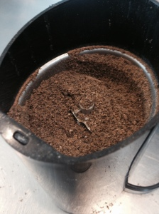 Grind up your dry spices.